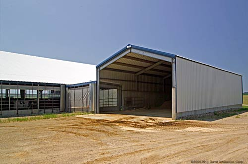 Dairy Barn Steel Buildings