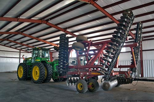 Farm equipment storage building plans 2014
